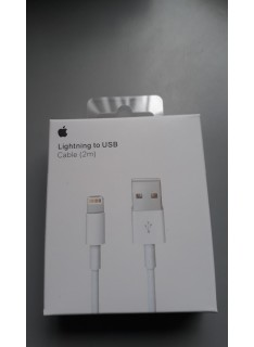 Cable Lightning A Usb Iphone 2Mt. A1510 5-6-6S en Ecuador - Estoy de Shopping